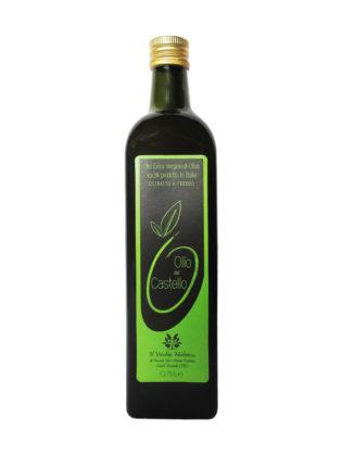 Olio Extravergine di Oliva Bottiglia 0.75L, bottiglia olio di oliva, olio evo