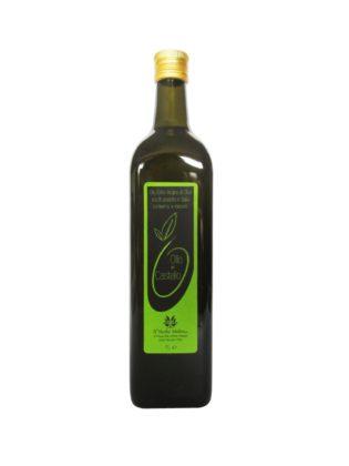 Olio Extravergine di Oliva Bottiglia 1L, bottiglia olio di oliva italiano