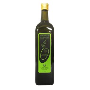 Olio Extravergine di Oliva Bottiglia 1L, bottiglia olio extravergine di oliva, olio di oliva