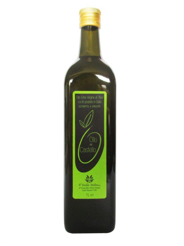 Olio Extravergine di Oliva Bottiglia 1L, bottiglia olio evo, olio evo