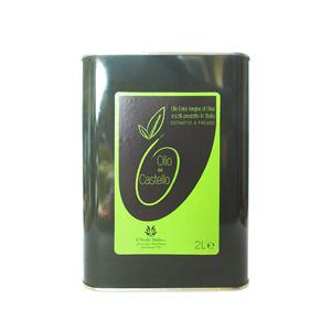 Olio Extravergine di Oliva Latta 2L, lattina olio di oliva, olio 100% italiano