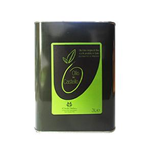 Olio Extravergine di Oliva Latta 3L, lattina olio di oliva, olio umbro