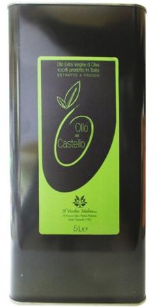 Olio Extravergine di Oliva Latta 5L, lattina, olio italiano