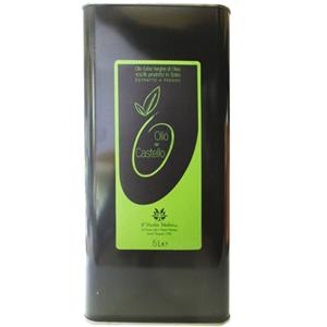 Olio extra vergine di oliva latta 5 l, lattina