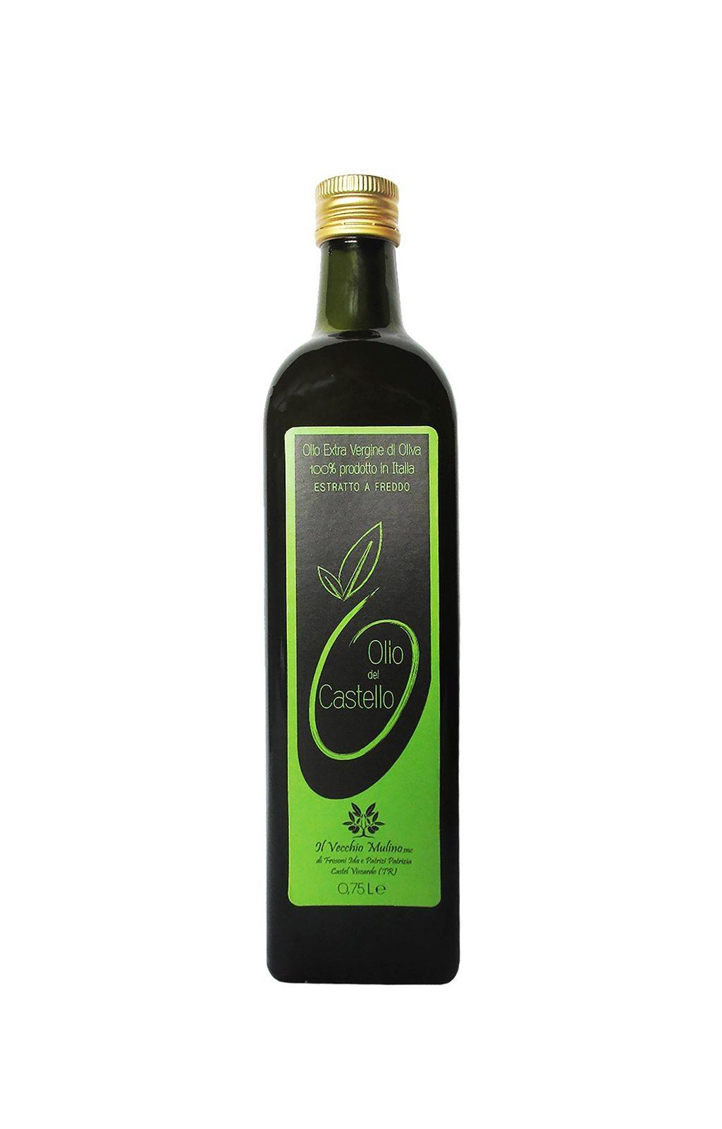 Olio Extravergine di Oliva Bottiglia 0.75L, bottiglia olio extravergine di oliva